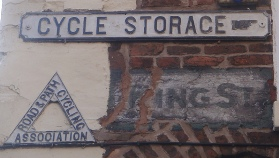 Motorists and bike riders in Chester are caught in a vicious cycle. Photo credit: Budby