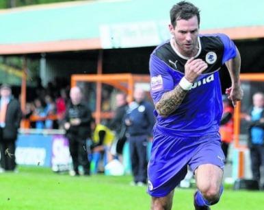 Gareth Seddon, seen here in action against Braintree, scored Chester's second. Photo:Flickr/leaderlivesport