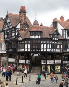 Chester's famous Eastgate Street. Photo: Wikimedia