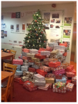 Chester students bring Christmas to children all over the world. Picture by: chestersu.com