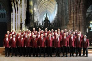 Chester Male Voice Choir. Photo: Chester Chronicle