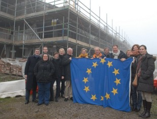 European specialists in regenerating former industrial and brownfield sites visited the site in November 2012. Photo: Flickr/CheshireWest