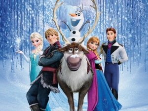 Disney's frozen is currently showing in all major cinema chains
