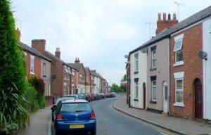 Garden Lane, Chester (pic: Nigel Mykura)