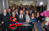 Councillors Andrew Dawson and Lynn Riley, MP Graham Evans and Frodsham Mayor Councillor Sara Wakefield were all in attendance for the launching. Photo:Cheshire West and Cheshire