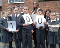 Saighton Church of England Primary School in Chester have backed the scheme by planting 100 bulbs. Photo: Flickr/CheshireWest