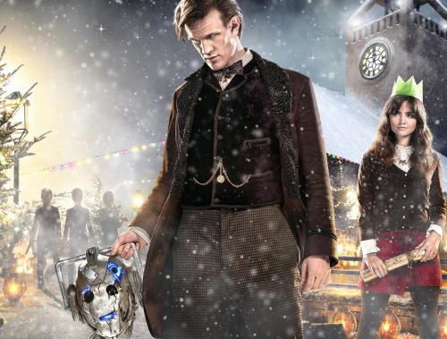Dr Who's Christmas episode, titled The Time of the Doctor, will see Matt Smith replaced by Peter Capaldi in the Tardis. Photo:BBC
