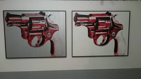 The Gun, Andy Warhol