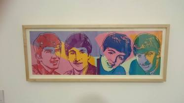 Warhol's interpretation of The Beatles
