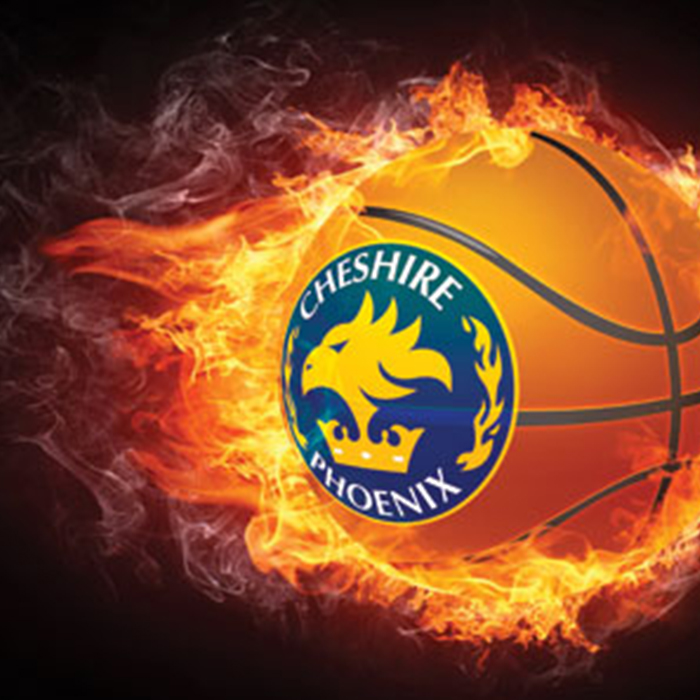 Cheshire Phoenix was on fire at Northgate! Pic: Cheshire Phoenix