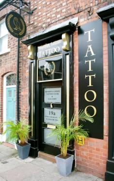 Minerva Lodge Tattoo Club  Pic : Minerva