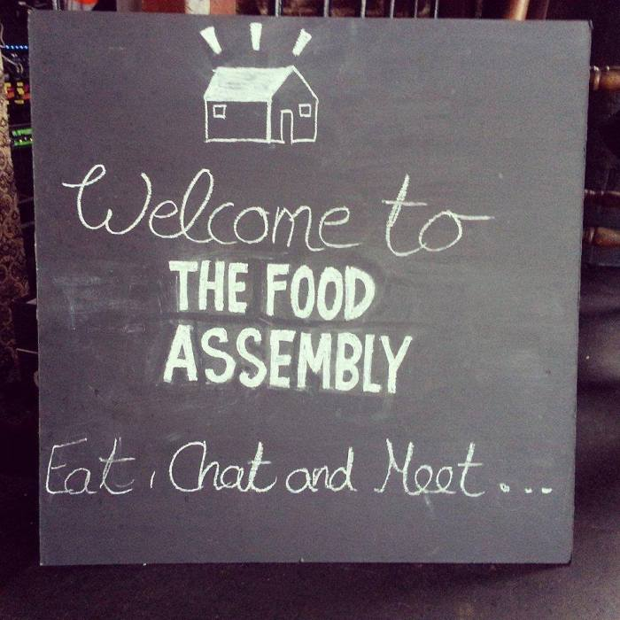 The Food Assembly held weekly at Telford's Warehouse. Pic:The Food Assembly
