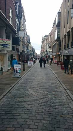 Watergate Street, Chester is host to a wide variety of independent businesses