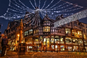 Chester at Christmas Pic : flickr