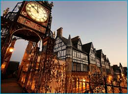 Chester clock tower in the city centre Pic- Chester Chronicle