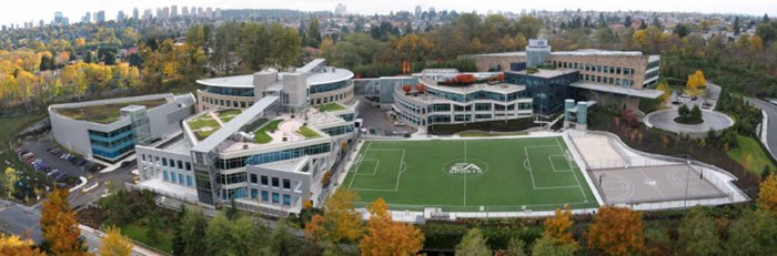 The lions den, EA Sports HQ in Vancouver, Canada Pic: www.ea.com
