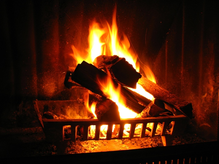 Don't allow yourself to get cold this winter, stay warm Pic: www.mychimney.com