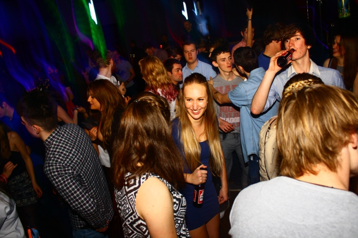 Students tend not to enjoy their night due to clubs at full capacity. Pic: Paige Edge.