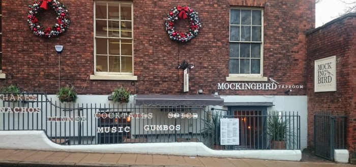The Mockingbird on Lower Watergate Street. Pic:Peter Thornton