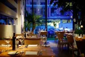 The Secret Garden restaurant in the Oddfellows' hotel. Pic : oddfellows