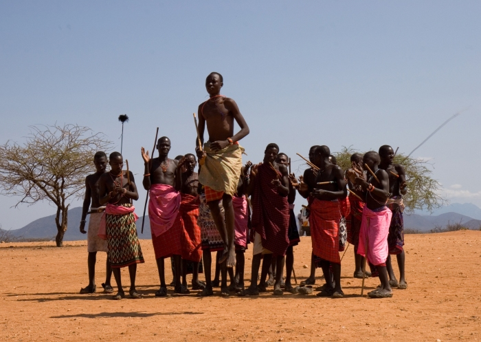 The Maasai Tribe are encouraged to take part in competitions, rather than hunting lions. Pic: Wendy Lin (Flickr).