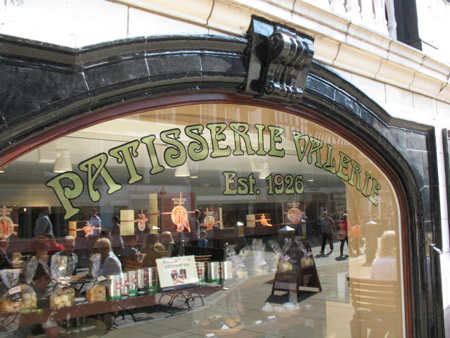 Patisserie Valerie was established in 1926 and home to some of the most scrumptious desserts Pic: Rosie Wilkinson (Flickr)