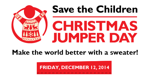 Celebrate this years Save the Children Christmas Jumper Day! Pic:Save the Children